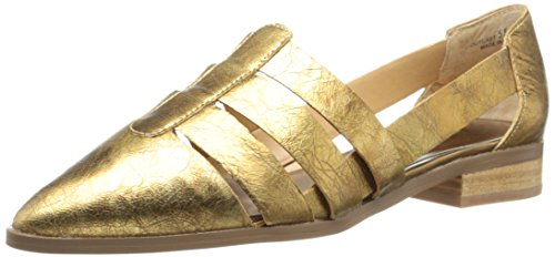 Gold Oxford Outcast Laundry Leather Women's Chinese q8t0Iq