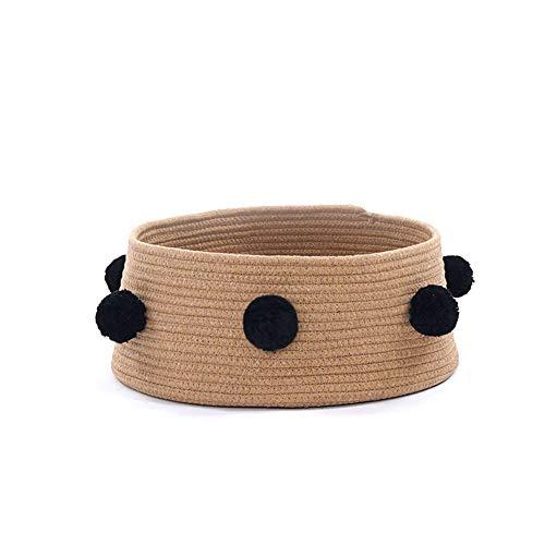 (MXY Cat Litter Summer Seasons Universal net red cat cat Bed cat House Villa Small Dog Kennel pet Supplies,Brown)