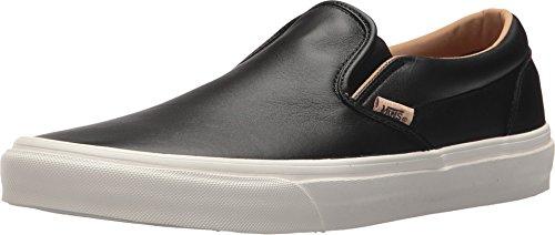 73a4ca56b2 Vans Classic Slip On Men s Lux Leather Black Porcini Fashion Shoes (8.0 men   9.5 women) - Buy Online in Kuwait.