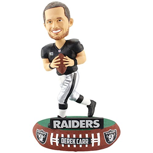 Forever Collectibles Derek Carr Oakland Raiders Baller Special Edition Bobblehead NFL