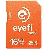 Eyefi Mobi 16GB Class 10 Wi-Fi SDHC Card with 90-day Eyefi Cloud Service (Mobi-16)