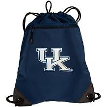 BROAD BAY UK Wildcats Drawstring Backpack University of Kentucky Cinch Bag - UNIQUE MESH & MICROFIBER