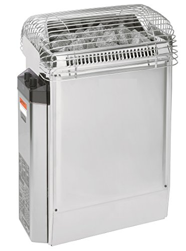 Harvia Topclass 8KW, 240V-1PH Electric Sauna Heater with Control Panel (Includes Sauna Stones)