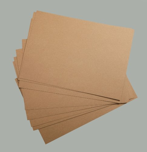 300gsm Sheets 50 (A4 Recycled Kraft Card - 300gsm 50 Sheets)
