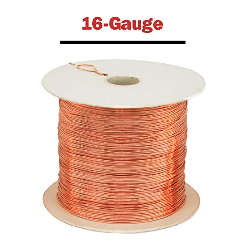 Parawire Copper Wire - 16-Gauge, 635 ft. spool by Parawire (Image #1)