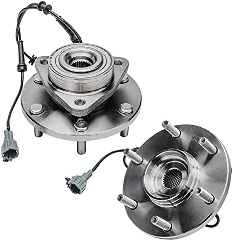 Front Wheel Hub /& Bearing Assembly LH RH Side for 2004-2007 Infiniti QX56// 2005-2007 Nissan Armada Titan Bodeman
