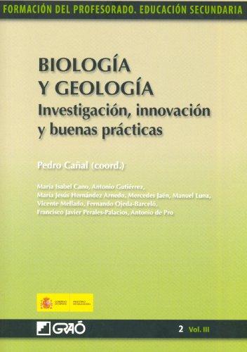 Descargar Libro Biología Y Geología. Investigación, Innovación Y Buenas Prácticas Francisco Javier Perales-palacios