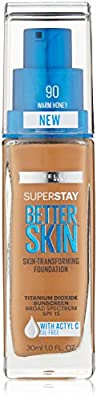 Maybelline New York Superstay Better Skin Foundation, 1 Fluid Ounce