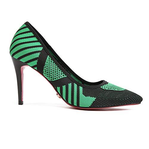 Sandales Compensées AdeeSu Green 5 36 SDC05958 Femme Vert EU 5ffBqw