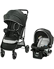 Graco Pace Click Connect Travel System with SnugRide Click Connect 30 LX Infant Car Seat