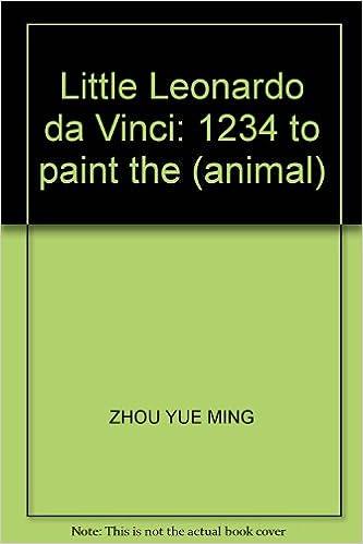 little leonardo da vinci 1234 to paint the animal