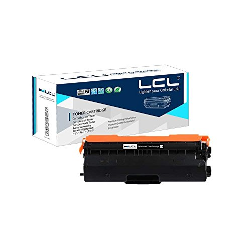 LCL Compatible Toner Cartridge Replacement for Brother TN-431 TN-433 TN431 TN433 TN433BK TN-433BK HL-L8260CDW HL-L8360CDW HL-L8360CDWT MFC-L8610CDW MFC-L8900CDW (Black 1-Pack) -  USCPBRTN433/K