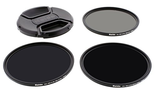 Haida 77mm Slim PROII Neutral Density Multi-Coated ND Filter Kit 8X 64x 1000x
