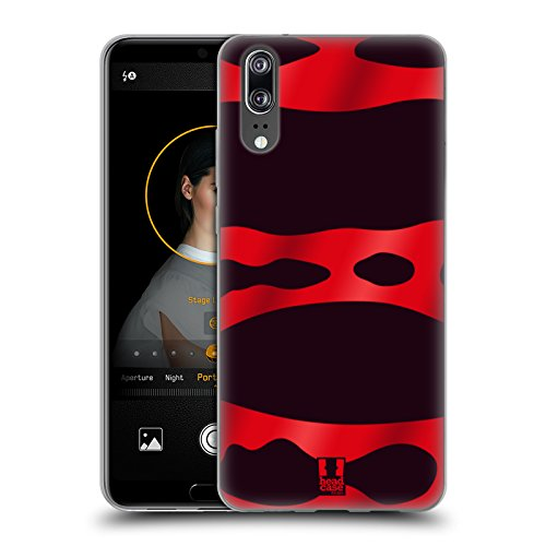 Head Case Designs Red Banded Poison Dart Frog Patterns Soft Gel Case for Huawei - Shell Banded Soft