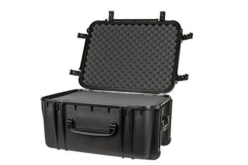 Seahorse SE1220 Protective Wheeled Case with Foam (Black)