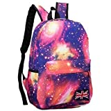 Domire New hot sale Galaxy backpack unisex school bag travel bag