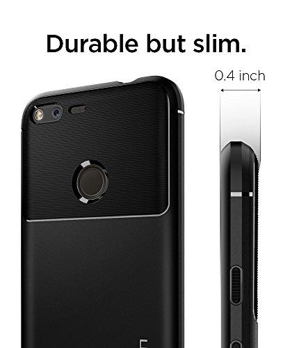 Spigen Rugged Armor Designed for Google Pixel XL Case (2016) - Black