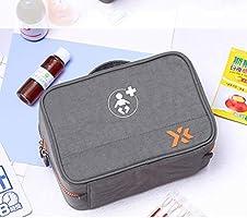 AYHa Wy-médica Caja portátil Mini Primera Bolsa de Ayuda vacío bolsa de tela Oxford Medicina Drogas Medicina Embalaje Envase Bolsa de herramientas - para la familia, viajes, al aire libre,Verde,19 *: Amazon.es:
