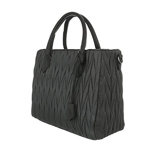Spalla Ital Grau Borsa A Donna design 44pqtY