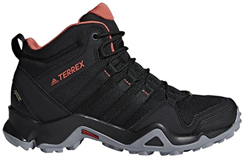 adidas Women Terrex Ax2r Mid GTX Hiking Boots Black 9 by adidas