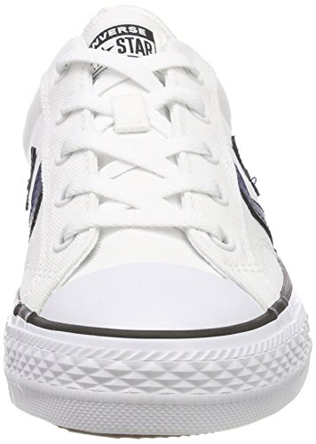 Player EU Black Baskets Star 40 Converse Ox White Navy Mixte Adulte 5fTnwqR