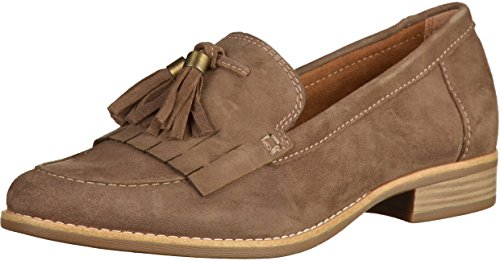 Tamaris 1-24206-28 Womens Loafers Wood
