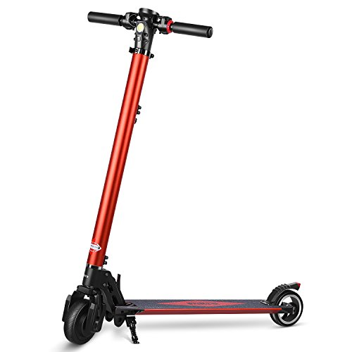 PARTU Electric Scooter Height Adjustable E-Scooter for Adult with 5.2 AH LG Battery - Max Speed up to 25 Km/h, Not an Extreme Scooter (2018 Newly)