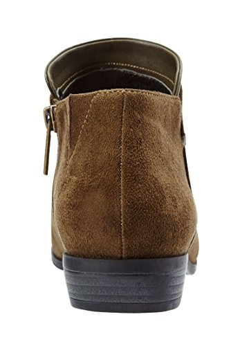 Confortview Womens Large Bexley Bootie Noir