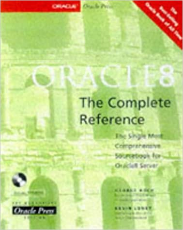 Oracle8: The Complete Reference: 9780078823961: Computer