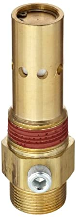 """Control Devices Brass In-Tank Check Valve, 3/4"""" Tube Comp. x NPT Male"""