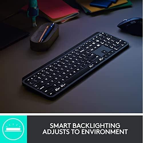 logitech mx advanced wireless keyboard for linux