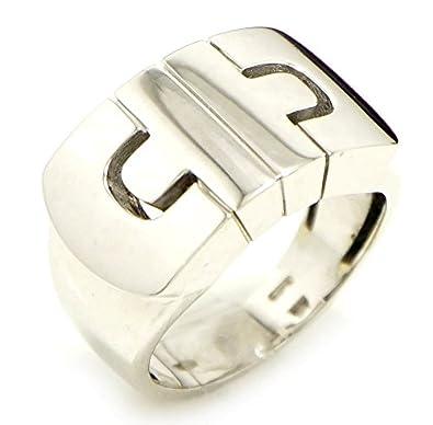 2bd66c44ae1d Amazon | [ブルガリ] BVLGARI パレンテシ リング 指輪 K18WG 750WG ホワイトゴールド 16号 #16 |  スタンダードリング 通販