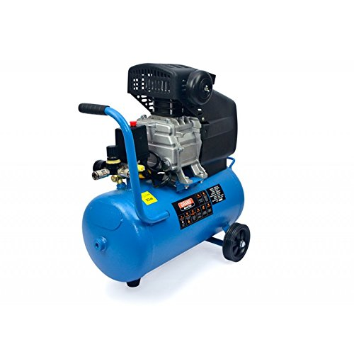 Compresor de Aire 24 litros Portátil Para Coches Compresores de aire Caudal 206L/Min: Amazon.es: Bricolaje y herramientas
