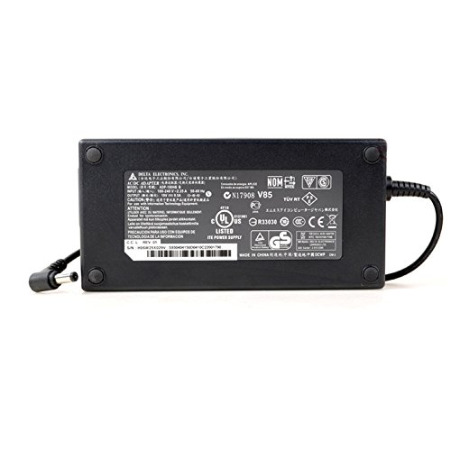 Laptop Charger for Razer Blade RZ09 14 15 2011-2017 Gaming Adapter 165W Asus ROG G75VW G750JM G751JL GL552VW GL752VW Adaptor Power Supply Replaces 120W 150W 180W Adapter Power Supply
