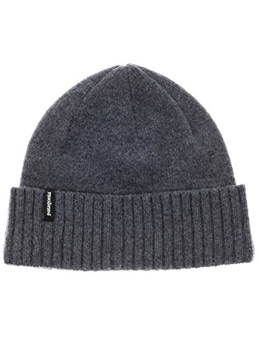 Patagonia Unisex Brodeo Beanie, Feather Grey, OS