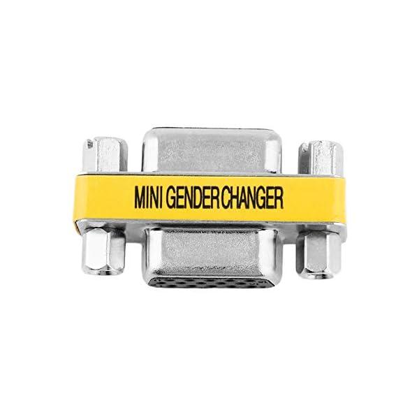 Adattatore per trasformatore di Genere a Pin Femmina VGA HD15 da Donna a Femmina di Design Professionale Disponibile… 4 spesavip