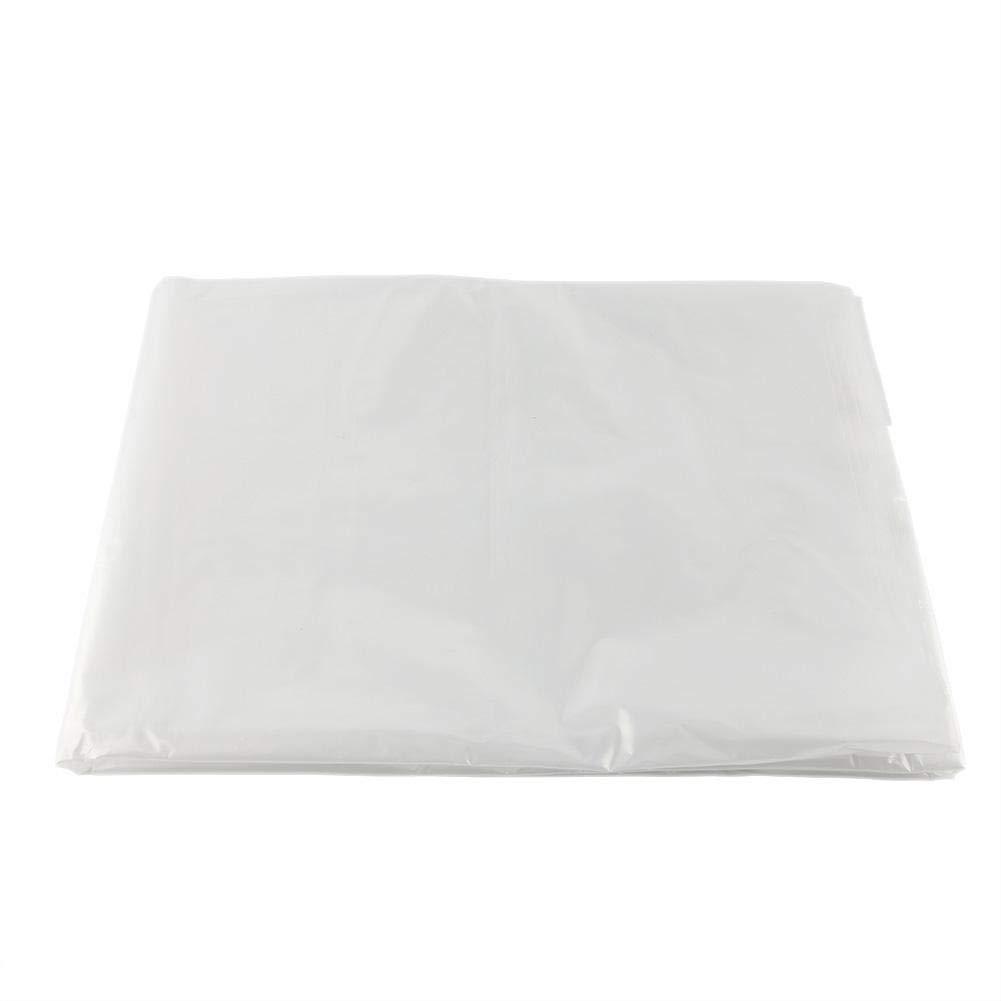 Wifehelper Greenhouse Bootstrap Farmer Plastic Dust-Proof Clear Polyethylene Film for Home Garden Use(36m)