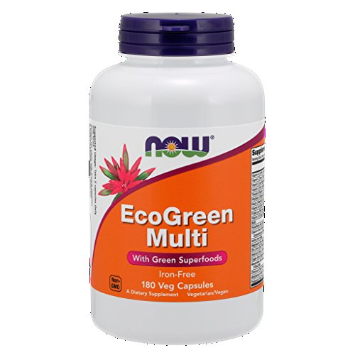 Now Foods: Eco Green Multi, 180 vcaps
