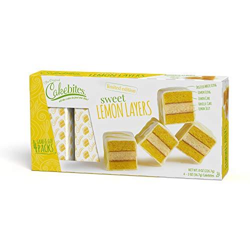 Sweet Lemon Layers - Cakebites