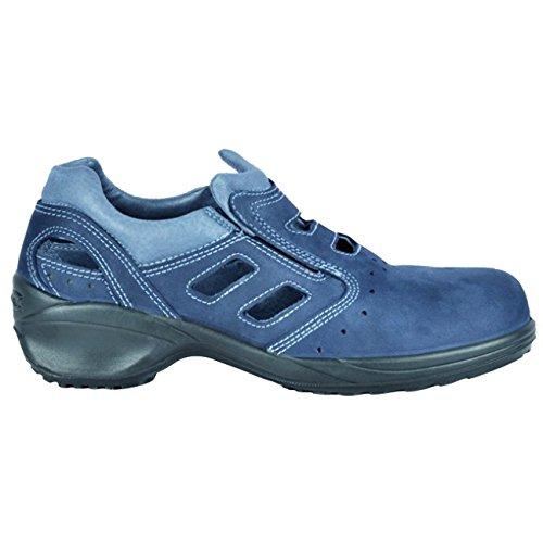 Cofra 11130-000.D40 Eloisa S1 P SRC Chaussure de sécurité Taille 40 Bleu
