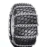 ATV, Snow Blower Thrower Snow Tire Chains 2 Link (15 x 600 x 6)