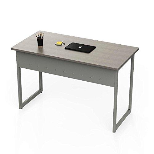 Linea Italia ZUD776 Quattra Office Desk Ash/Gray, 24