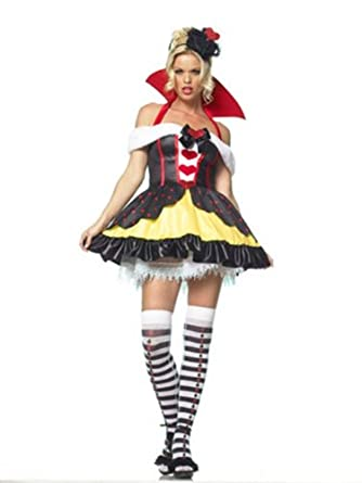 queen of hearts adult costume large