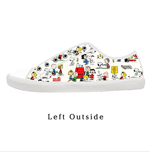Custom Women Snoopy Canvas Shoes Comfortable Sneakers US10