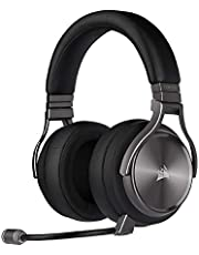 Corsair Virtuoso RGB Wireless Se Gaming Headset - High-Fidelity 7.1 Surround Sound W/Broadcast Quality Microphone - Memory Foam Earcups - 20 Hour Battery Life - Gunmetal