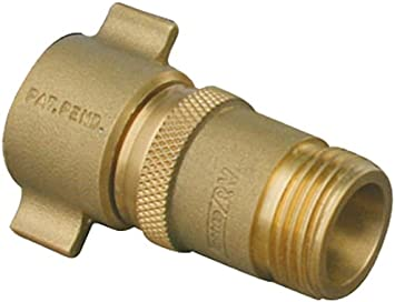 Water Pressure Regulator Rv Brass Valve Gauge Hose Adapter Fitting Camco 40064 Rainbowlands Lk