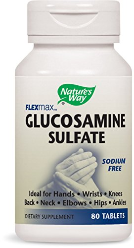 Nature's Way Glucosamine Sulfate, 80 Tablets ()