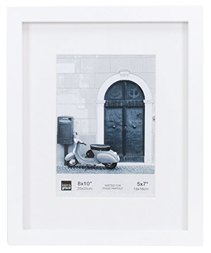 Kiera Grace PH44052-5 Contempo Picture Frame Matted for 5 by