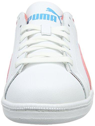 Puma Smash Fun L - Zapatillas de deporte Niños Blanco - Blanc (White/Porcelain Rose)