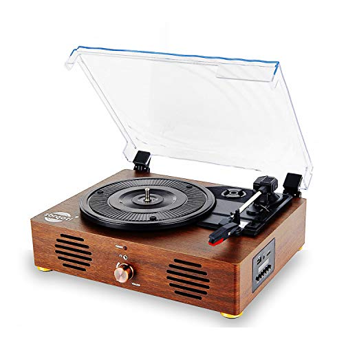 Record Player Vinyl Recording Turntable - LCD Display 13 in